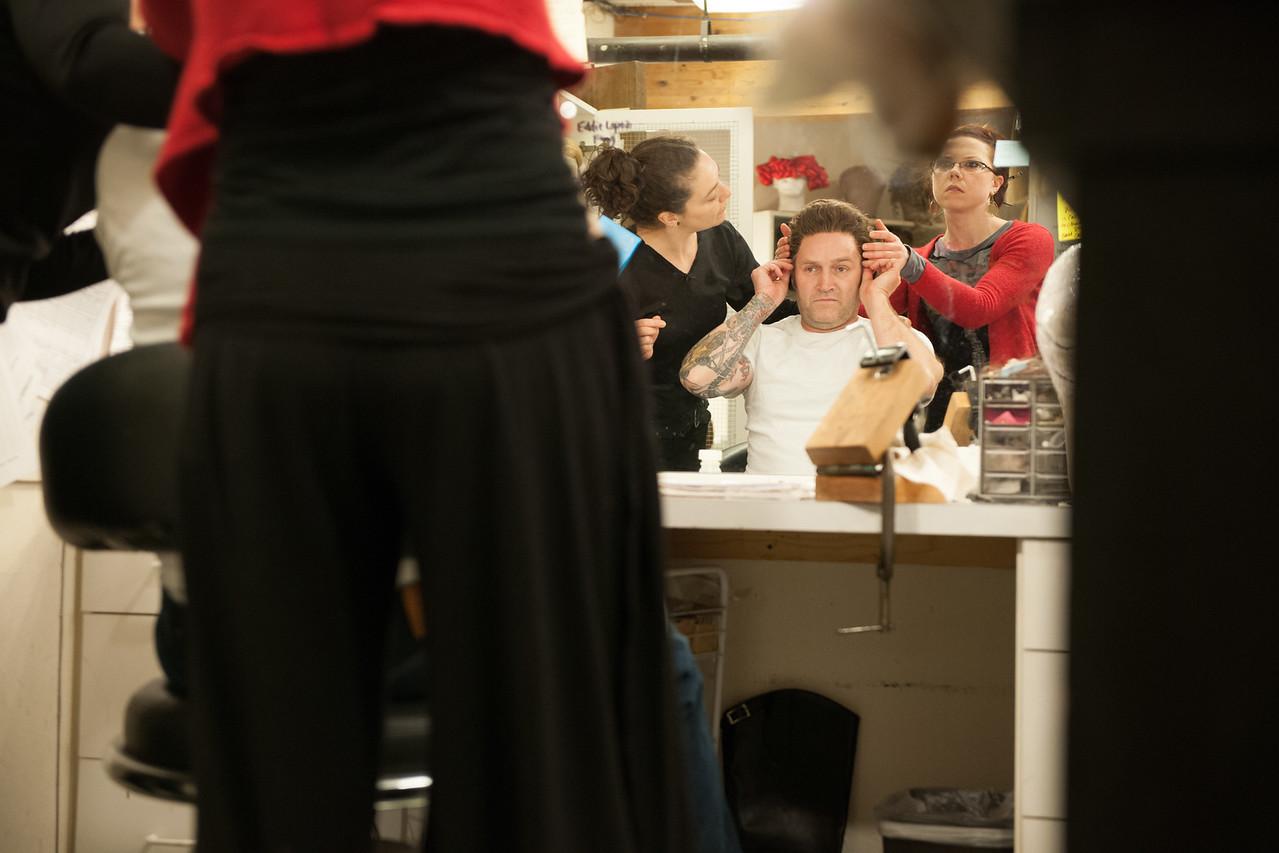 The Oregon Shakespeare Festival. 2011. Loves Labors Lost preshow. Photo: Jenny Graham.