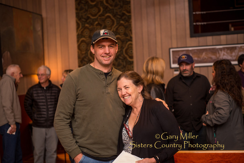 Beckie Zimmerman's US Forest Service Retirement Party at The Belfry in Sisters, Oregon on November 23, 2013 - Copyright © 2013 Gary N. Miller, Sisters Country Photography