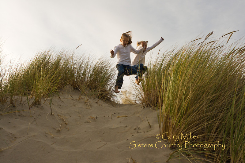 Newport, Oregon Beach Scenes September 2011 - Photo by Gary Miller - Sisters Country Photography