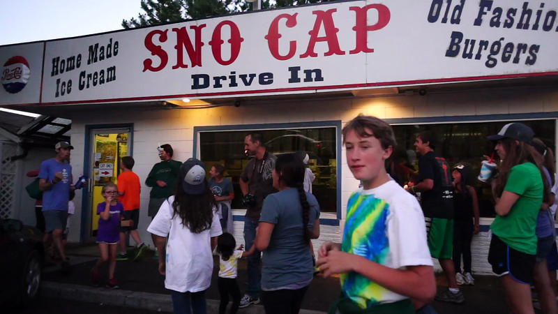 Eating home made ice cream at the Sno Cap is part of the joys for inner city youth enjoying their first outdoors experience during a week at Camp Tamarack outside of Sisters, Oregon. This video was taken as part of Project Dayshoot+30, #dayshoot30, for the Oregon Historical Society - Copyright © 2013 Gary N. Miller, Sisters Country Photography