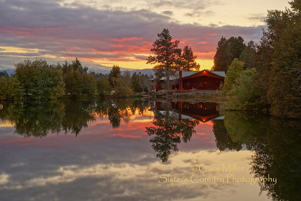Sunset in Sisters Country, Sisters, Oregon - Copyright © 2013 Gary N. Miller, Sisters Country Photography