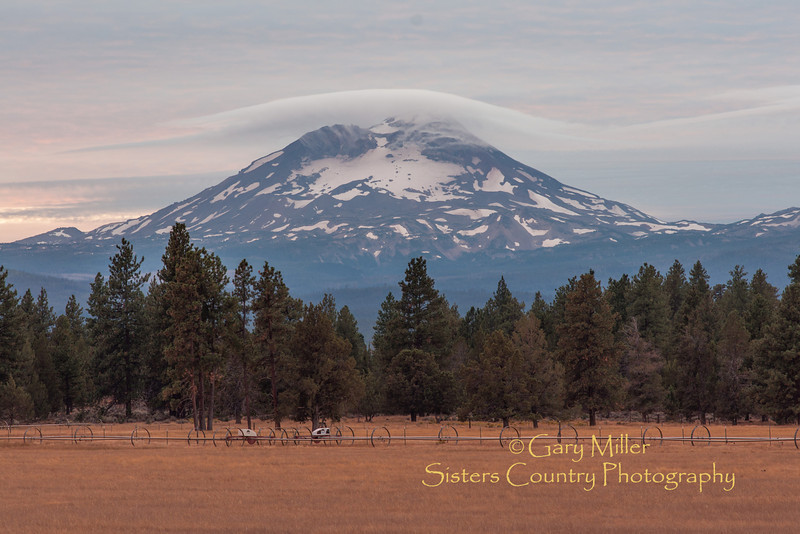 High Desert Sunset over the Deggendorfer Ranch - Photo by Gary N. Miller - Sisters Country Photography