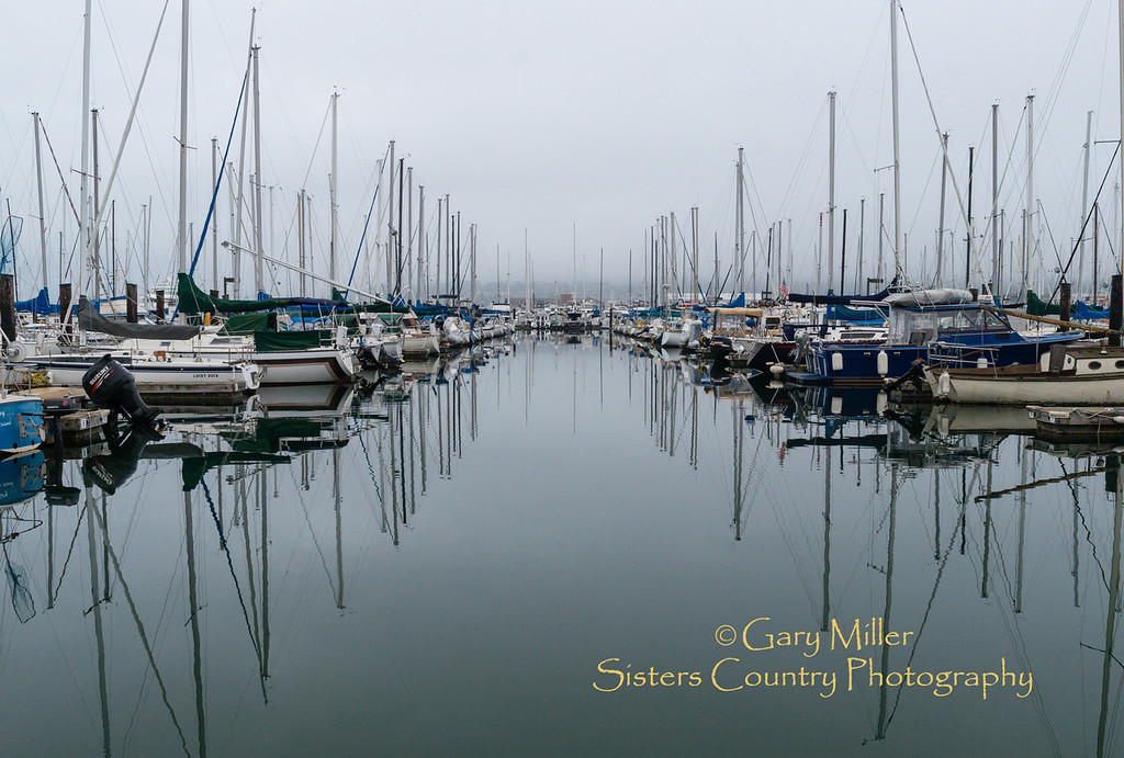 Cap Sante Boat Haven, Anacortes, WA - Images from a sailing holiday to the Canadian Gulf Islands in October of 2012 - Gary N. Miller - Sisters Country Photography