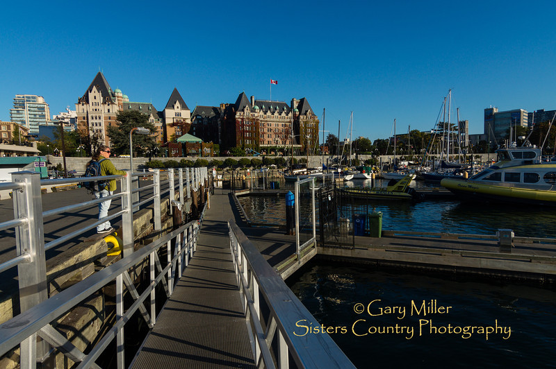 Empress Hotel in Victoria, BC - Images from a sailing holiday to the Canadian Gulf Islands in October of 2012 - Gary N. Miller - Sisters Country Photography