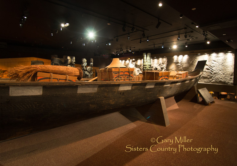 Scenes from the Royal BC Museum - Victoria, BC - Images from a sailing holiday to the Canadian Gulf Islands in October of 2012 - Gary N. Miller - Sisters Country Photography