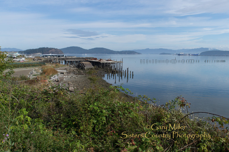 Guemes Channel and the passage to Bellingham viewed from Anacortes, WA - Images from a sailing holiday to the Canadian Gulf Islands in October of 2012 - Gary N. Miller - Sisters Country Photography