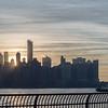 BTS Catching the sunrise over NYC skyline