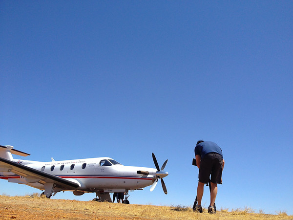 Filming the Royal Flying Doctors