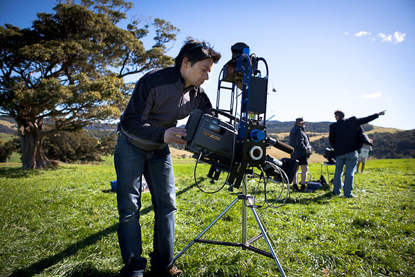 Lighting Cameraman Andy Wong
