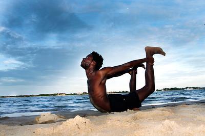 Bow Pose ~ Lamu Island, Kenya