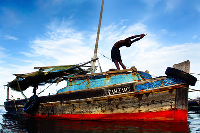 Lamu Island Backbend ~ The Indian Ocean