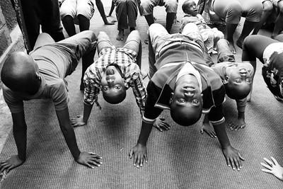 Table Pose ~ Mama Fatuma Orphanage. Nairobi, Kenya