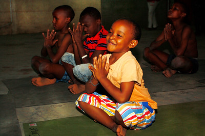 Meditation at the Children's Home ~ Nairobi, Kenya