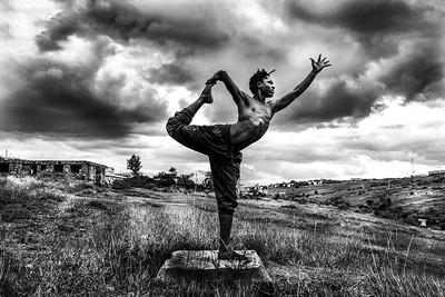 Warrior Dancer ~ Nairobi, Kenya