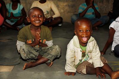 Yoga at the Mama Fatuma Orphanage ~ Nairobi, Kenya