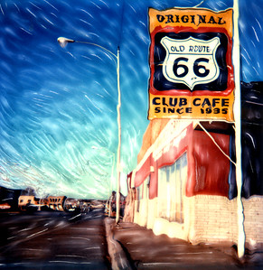 Route 66 Cafe ~ New Mexico