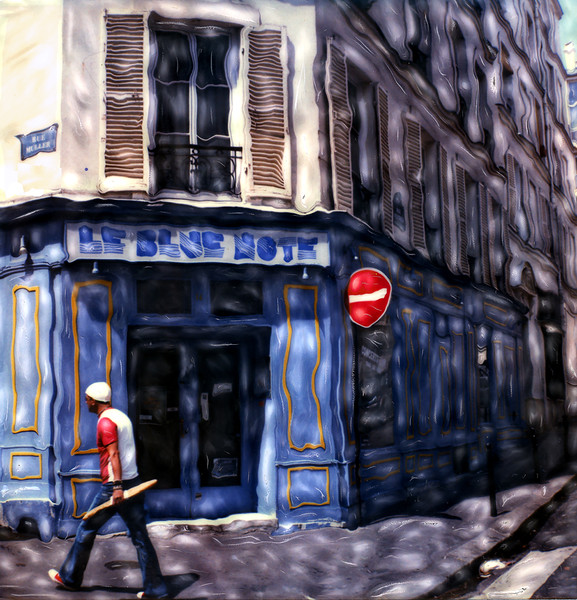 Le Blue Note Cafe ~ Paris