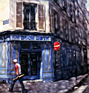 Le Blue Note Cafe ~ Paris