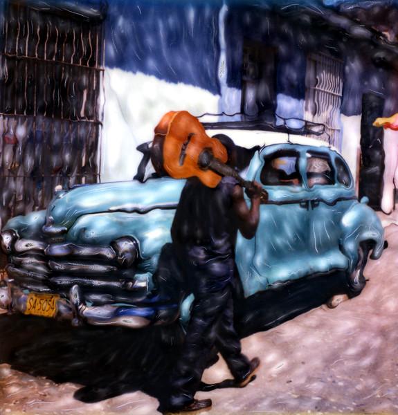 The Guitarist ~ Trinidad, Cuba