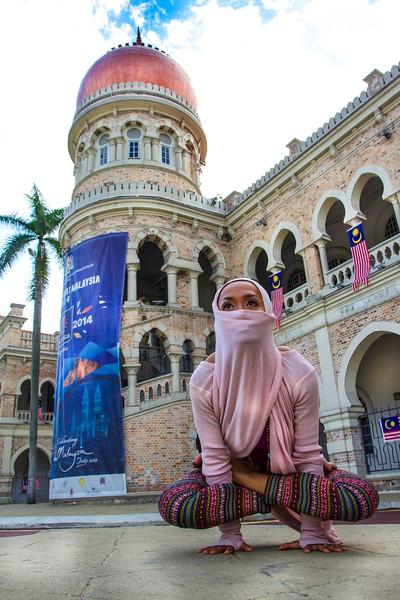 Rooster Pose ~ Kuala Lumpur, Malaysia