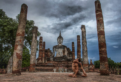 On the Path of the Buddha ~ Sukhothai, Thailand