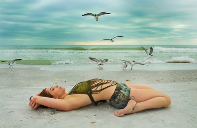 Gulf Coast Suptavirasana ~ Saint Pete Beach, Florida