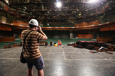 construction photography for Geva Theatre Center