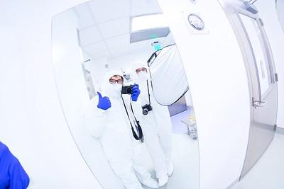 Clean room for Duke Med Research