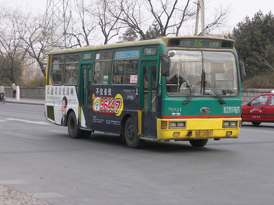 Beijing Bus AA2487 Temple of Heaven Beijing Mar 06
