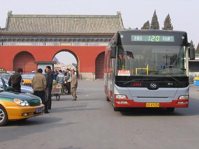 Beijing Bus AA9204 Temple of Heaven Beijing 2 Mar 06