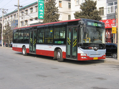 Beijing Bus AA9185 Temple of Heaven Beijing 1 Mar 06