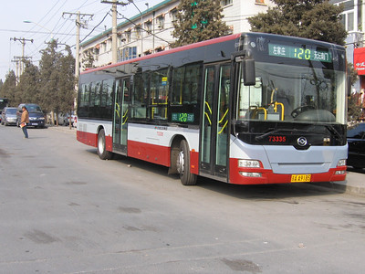 Beijing Bus AA9185 Temple of Heaven Beijing 2 Mar 06
