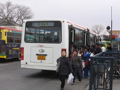 Beijing Bus A86854 Victory Gate Beijing 2 Mar 06