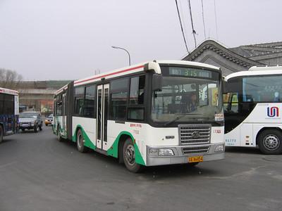 Beijing Bus A86854 Victory Gate Beijing 1 Mar 06