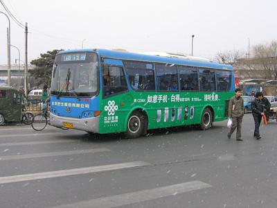 Beijing Bus A99328 Victory Gate Beijing Mar 06