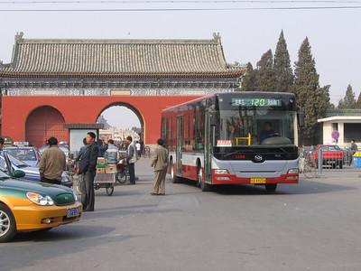 Beijing Bus AA9204 Temple of Heaven Beijing 1 Mar 06
