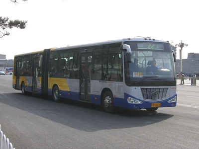 Beijing Bus AB0618 Tiananmen Square Beijing Mar 06