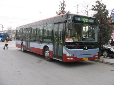 Beijing Bus AA9197 Temple of Heaven Beijing Mar 06