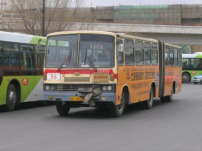 Beijing Bus A18201 Victory Gate Beijing Mar 06