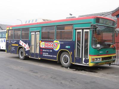 Beijing Bus A79711 Victory Gate Beijing Mar 06