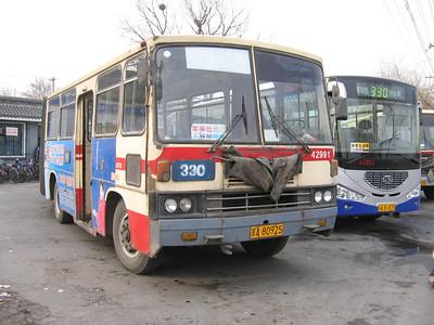 Beijing Bus A80925 Summer Palace Beijing 2 Mar 06