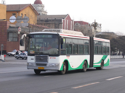 Beijing Bus AB0152 Tiananmen Square Beijing Mar 06