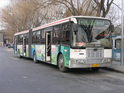 Beijing Bus AA4497 Summer Palace Beijing Mar 06