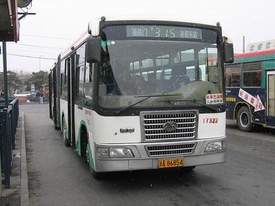 Beijing Bus A86854 Victory Gate Beijing 4 Mar 06