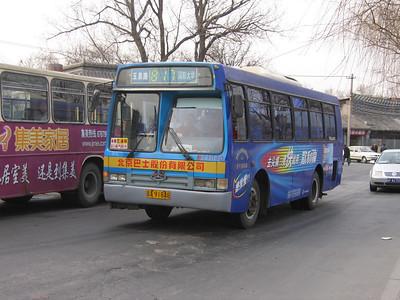 Beijing Bus A91948 Summer Palace Beijing Mar 06