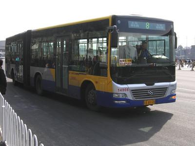 Beijing Bus AA8148 Tiananmen Sq Beijing Mar 06