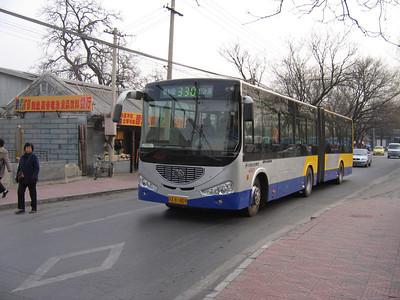 Beijing Bus AB1809 Summer  Palace Beijing 1 Mar 06