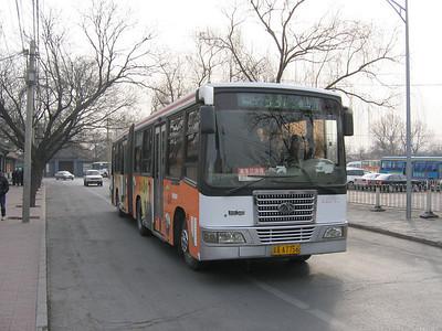 Beijing Bus AA7756 Summer Palace Beijing Mar 06