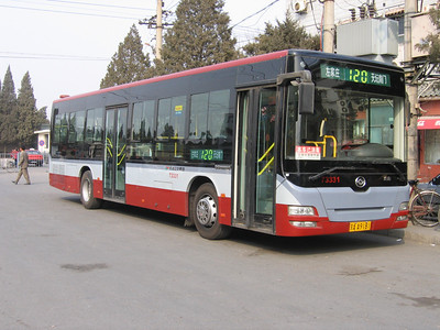 Beijing Bus AA9181 Temple of Heaven Beijing Mar 06