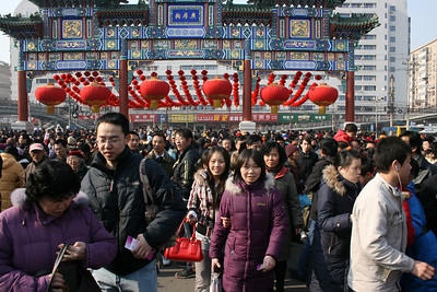 Ditan Park Fair  Chinese New Year  January 27, 2009. © Lewis Sandler Beijing Video Studio